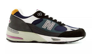New Balance 991 Made In England Black Blue M991MM Multiple Sizes New