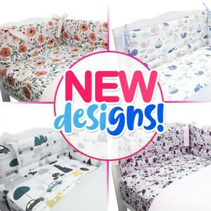 30+NEW UNIQUE DESIGNS BABY BEDDING BED SET fit COT or COT BED 3,5 Pieces