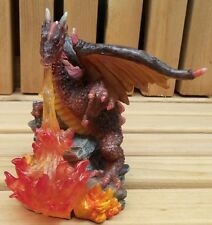 "Brown Fire-Breathing Dragon 4"" Resin"