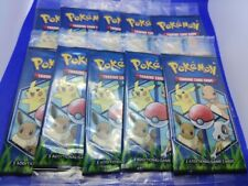 10x SEALED General Mills Pokemon Cereal 3-Card Booster Packs NEW