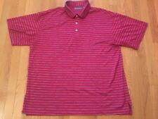 Daniel Cremieux Signature Collection Polo Shirt, Size XL, Stripes