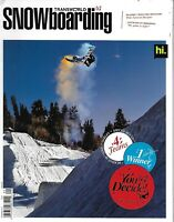 Transworld Snowboarding Magazine The Buff Moose Dan Brisse Nicolas Miller 2012 .