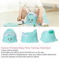 High Quality Cartoon Portable Pot Baby Potty Training Toilet Seat Multifunctiona