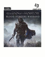 Middle-earth Shadow of Mordor - Blood Hunters Warband Key Steam [Blitzversand]