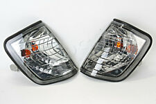 Side Turn Lights Corner Signals PAIR Crystal Fits MERCEDES E-Class W124 1985-95