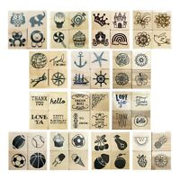 """Recollections Rubber Stamp Set 1"""" Wood Mounted Mini Planner"""