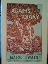 Adam's Diary by Twain, Mark
