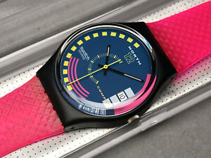 SWATCH UHR ** GB412 - TRAFFIC JAM - GENT ** NEU !