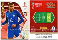 "RARE !! Card KYLIAN MBAPPE ""WORLD CUP RUSSIA 2018"" Panini ROOKIE"