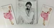 Kylie Minogue 'At Home' Official Promo Brochure Catalogue Group Of 3 (white)