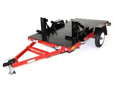 Motorbike Trailer Folding - 2 & 1 Bike Trailer & Flat Top Trailer