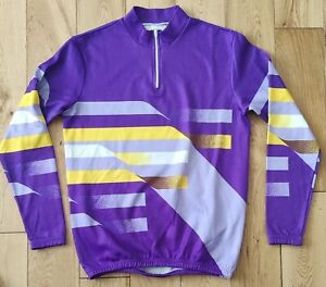 Long sleeve Italian Cycling Retro Design Size Small.
