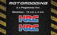 2 x Pegatinas Honda hrc vinilos stickers autocollant decals adhesivos  calcas