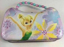 Tinkerbell Metal Girls Tin Lunch Box Cute Small Size: 6x4x2.5 Secret Wishes