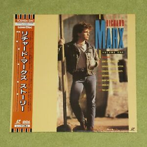 RICHARD MARX Volume 1 - RARE 1991 JAPAN LASERDISC + OBI (Cat No. TOLW-3071)