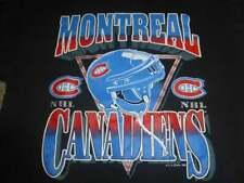 Men's Vtg 1993 Montreal Canadiens NHL Jersey Shirt Black Unisex Cotton S-3XL