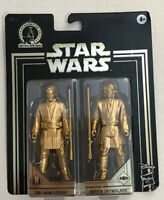 Star Wars Skywalker Saga Commemorative Edition Gold Obi-Wan & Anakin - Free Ship