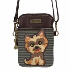 "Chala Cell Phone Crossbody Bag ""Yorkshire Terrier"" - Convertible Strap NEW"
