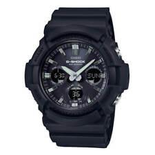 Casio Men's Watch G-Shock World Timer Tough Solar Black Resin Strap GAS100B-1A