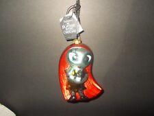 DISNEY STORE Tim Burton's Nightmare Before Christmas Glass Ornament SALLY
