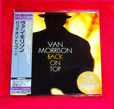 Van Morrison Back On Top SHM MINI LP CD JAPAN UICY-93440
