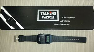 Quality English Talking Watch Blind 4 Extra FREE BATTERIES ships from U.S.