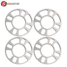 4pcs 8mm Universal Wheel Spacers for 4 Lug 4X100 4X108 4X110 4X114.3 4X4.5 4X120