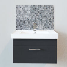 Bathroom Splashbacks - Sink Splashbacks - By Premier Range - Grey Effect Mosaic