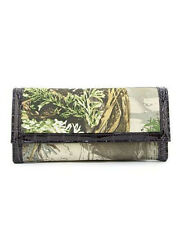 Realtree Camo Camouflage Redneck Country Girl Trifold Checkbook Wallet, MAX1