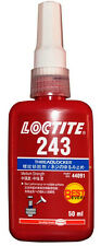 LOCTITE HENKEL 243 MEDIUM STRENGTH 50ML - BEST EVER THREADLOCKER  - B/B  10/2019