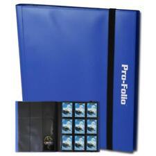 BCW GAMING PRO-FOLIO 9-POCKET ALBUM - BLUE