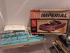 AMT 1966 Chrysler Imperial 1/25 Scale Model FOR PARTS