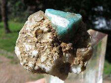 Minerali *** CRISTALLI di AMAZZONITE su MATRICE Etiopia