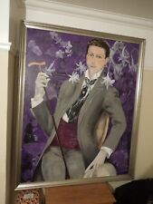 Lovely Large Framed Oil Painting By Polly Ballantine - Collection from NN1