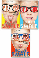 Geek Girl Collection 3 Book Set, By Holly Smale (Model Misfit, Geek Girl and Pi