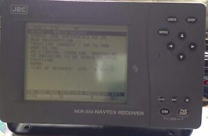 JRC NCR-333 Navtex Receiver Display
