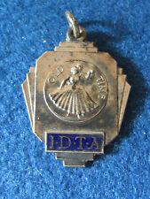 Vintage IDTA Medal - Silver Position - Old Time - International Dance Teachers