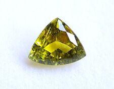 Turmalin  lemon  grün  gelb  13 x 10,7 mm  Triangel  Dreieck  5,17 Carat
