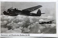 26077 Foto AK Junkers Ju 88 Flugzeug Flieger