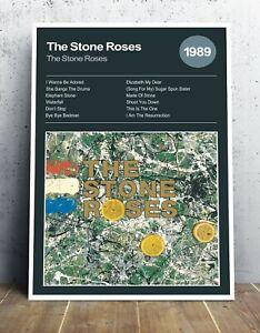 The Stone Roses - Debut Album Art - Original Artwork - Various Sizes