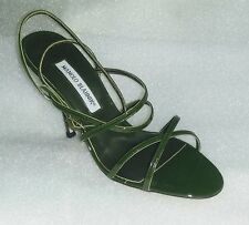 "NIB Manolo Blahnik ""Magretto""  Strappy Sandals, Size 39,5"