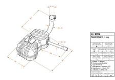 0205 Website Schalldämpfer Typ original Piaggio Vespa GS 3a Serie