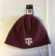 Texas A&M Aggies ADIDAS Knit Beanie Toque Skull Cap Winter Hat NEW Fleece