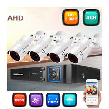 1080P HDMI 4CH DVR Kit CCTV IP Camera Security Surveillance Home NVR System IP66