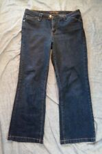 Riders Copper Women's Medium Dark Blue Boot Cut Jeans Size 15/16 M
