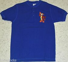 Tigger Winnie the Pooh Disney Polo Shirt 90s sz. Small Embroidered Tigger Logo
