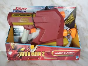 RARE Brand New Hasbro Super Soaker Iron Man 2 Water Blaster Gun