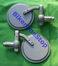 MRU026-Bar End Espejos Moto Para Moto Con 13mm o 22mm Barras Par Nuevo