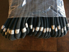 New Wilson low cut black socks-9-11, ONE DOZEN!!