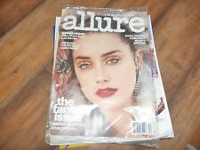 NEW Allure Magazine December 2017 ft. Amber Heard The Fantasy Issue